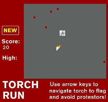 Olympic Torch Run Game