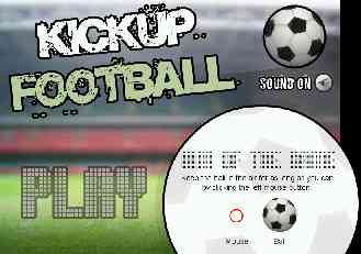kick up football game