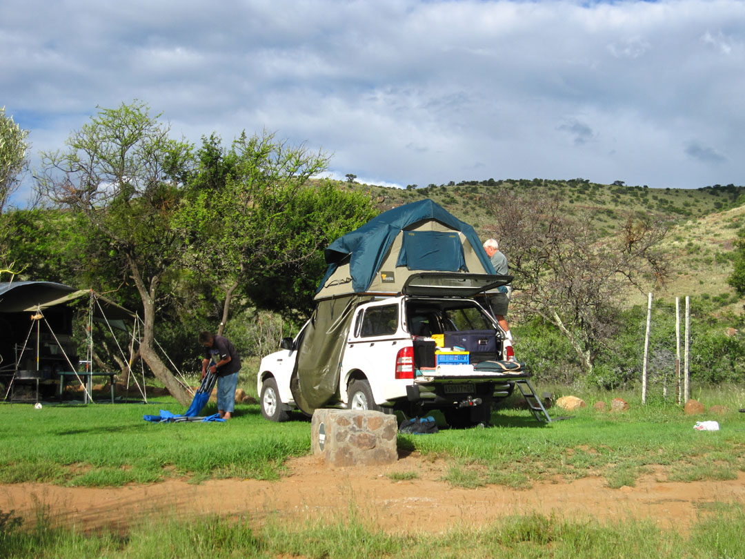 66 Square Feet (Plus): Camping at the Mountain Zebra ...