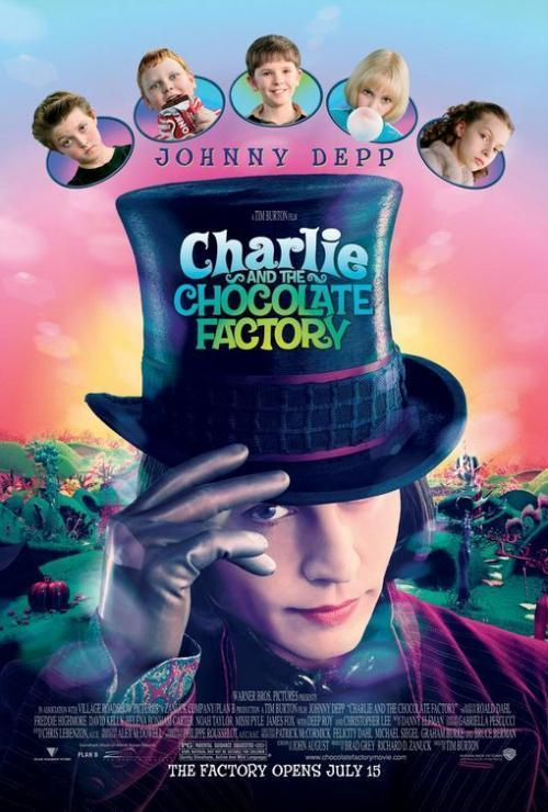خيال وكوميديا 2005 charlie and the chocolate factory