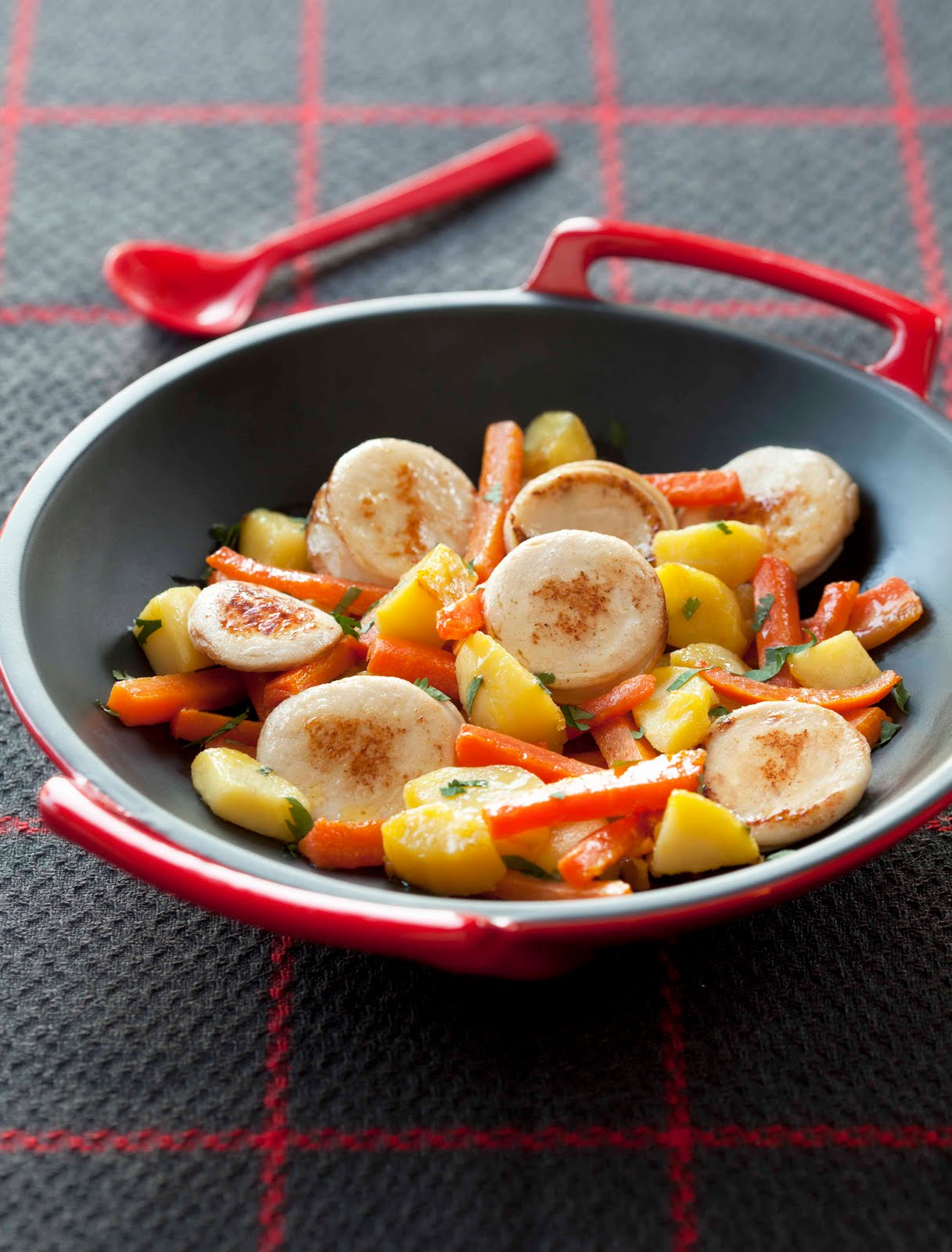 Thymcitron2 les communiqu s wok de boudin blanc en for Cuisinier wok