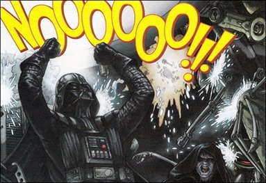 Darth Vader Screaming NO!