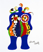Niki de Saint Phalle  Nana Sante 1999
