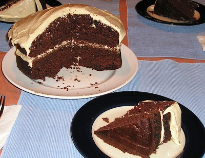 Cinnamon Cocoa Applesauce Cake