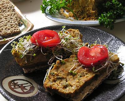 Vegetarian Lentil Pate