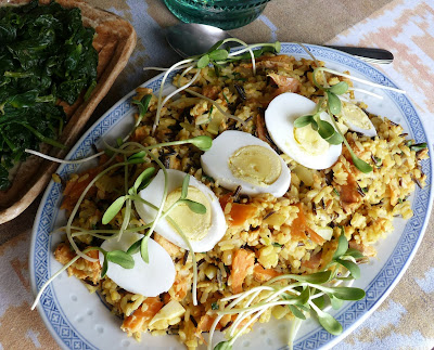 Smoked Trout Kedgeree