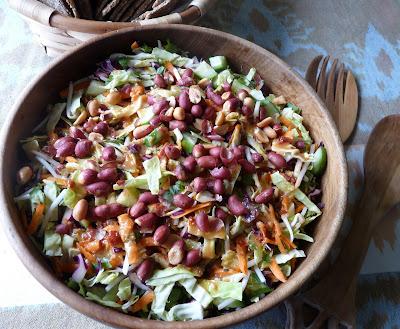 Peanutty Asian Salad