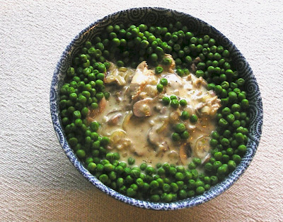 Chicken with Mushrooms & Shallots in Cream Sauce