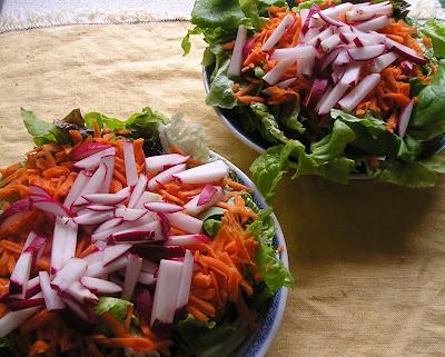 Salad in June
