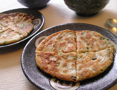 Chinese Onion Pan Bread (Tsung Yu Ping or Jiucai Yu Bing)