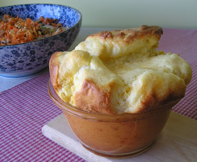 Aunt Alethea's Cheese Souffle