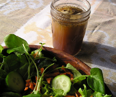 Dads Maple Sherry Salad Dressing