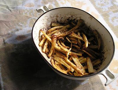 5-Spice Parsnips