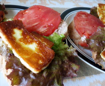 Cheese Lettuce and Tomato Sandwich