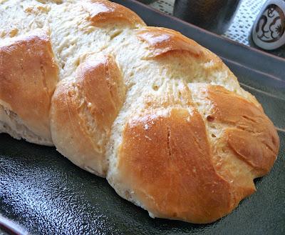 Finnish Nisa, or Pulla Bread