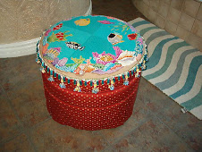 Lolly's Finished Footstool