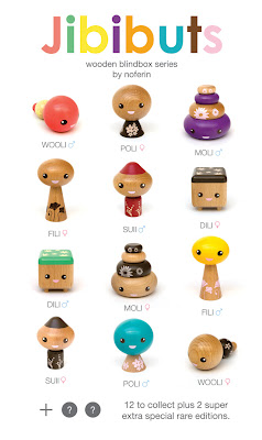 Jibibuts by Noferin. Made from rubber wood.