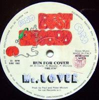 Cover Album of MR. LOVER - Run For Cover (1982)
