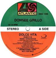 DONNEE GRILLO - Dolce Vita (1989)