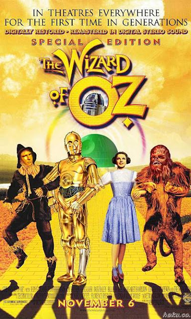 Mashup - Star Wars - Wizard of Oz - Mágico de Oz