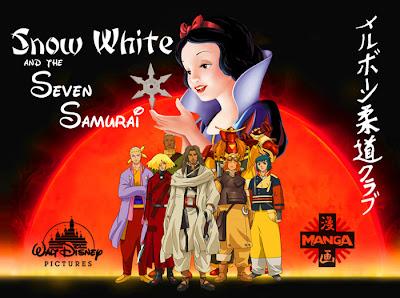 Mashup: Snow White - Seven Dwarves - Seven Samurai