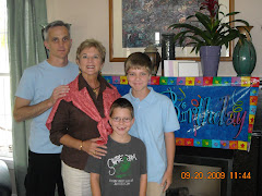 Annette's 39th with son Kelly and 2 of 4 grandsons