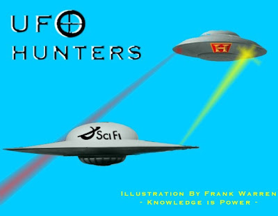 UFO Hunters Doing Battle