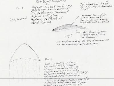 UFO Drawing 1964