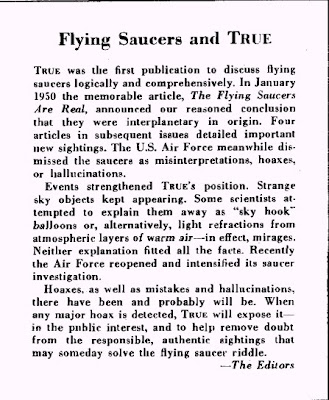 The Flying Saucers and the Mysterious Little Men by J.P. Cahn (C)