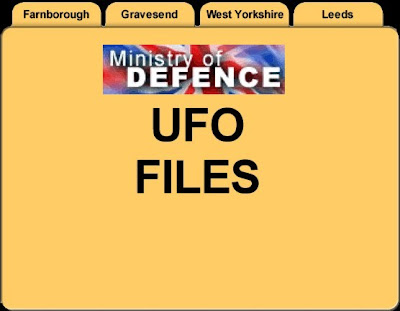 MoD UFO Files Data Base