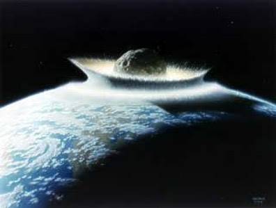 Asteroid Impacts Earth