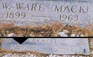 Brazel Head Stone