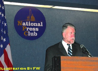 Robert Hastings at The National Press club (Illustration)
