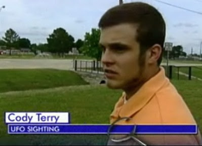 Cody Terry Witness To Decatur UFO