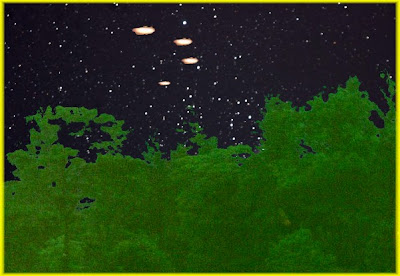 UFOs Over Loveland Colorado