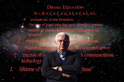 Frank Drake Equation Galaxy