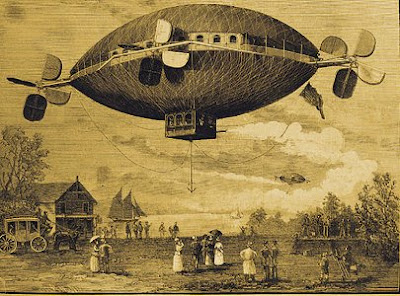 Airship Cover of Scientific American