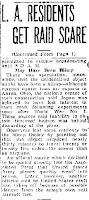 LA Guns Shell Mystery Aircraft (Cont) - The Modesto Bee 2-25-1942