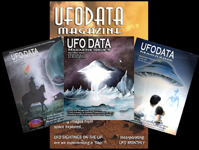 UFO Data Magazine Collage