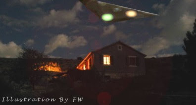 Triangular UFO Over Perryville, Rhode Island