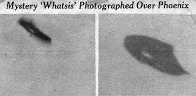 UFO Phototgraphed By William A Rhodes 7-7-1947
