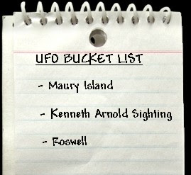 UFO Bucket List