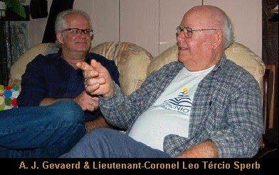 A. J. Gevaerd & Lieutenant-Coronel Leo Tércio Sperb