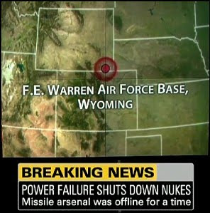 Numerous UFO Sightings Near F.E. Warren AFB's Nuclear Missile Sites Have Recently Been Reported