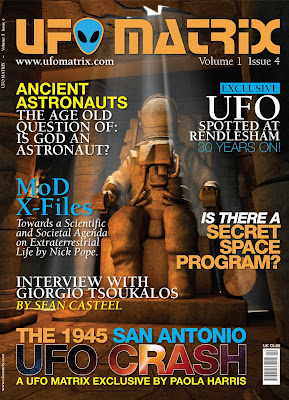 UFO Matrix Cover Issue 4