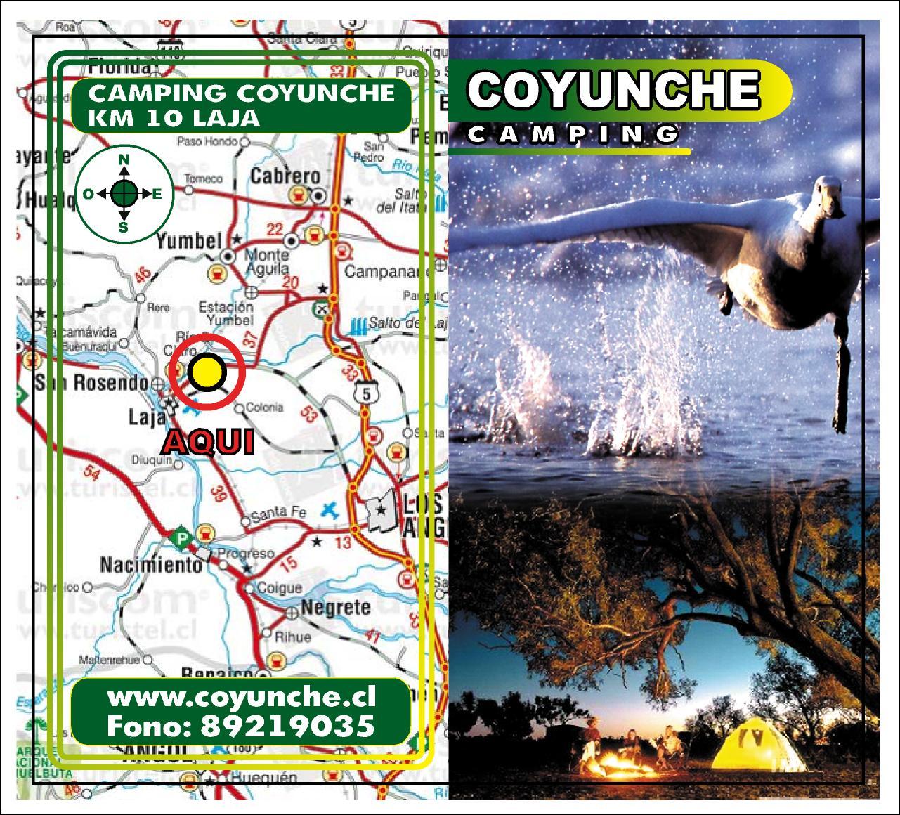 www.coyunche.cl Aventura Familiar Camping y Cabaña
