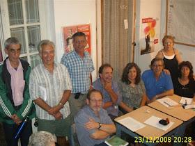 Asunción de la  Comisión Directiva 2009 - 2010