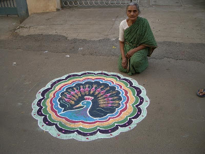 Different names of Rangoli