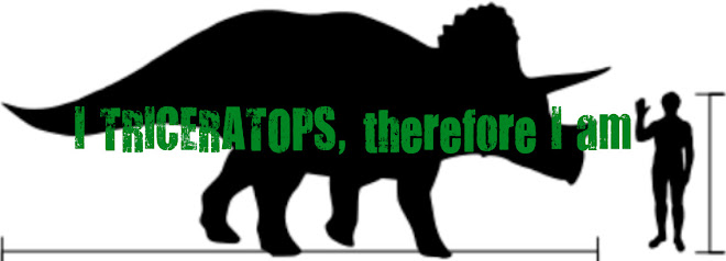 I TRICERATOPS, therefore I am.