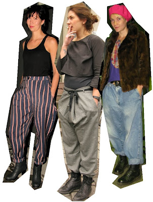 The skinny jean backlash is well under way and I'm craving a bit of baggy ...